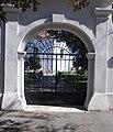 Rákóczi Road gate, Reformed church, 2020 Sárospatak.jpg