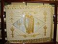 Réplique du drapeau d'adieu offert par le comte de Provence à la brigade irlandaise en novembre 1792.jpg