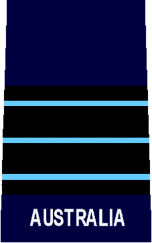 Wing commander (rank) - Image: RAAF O5 rank
