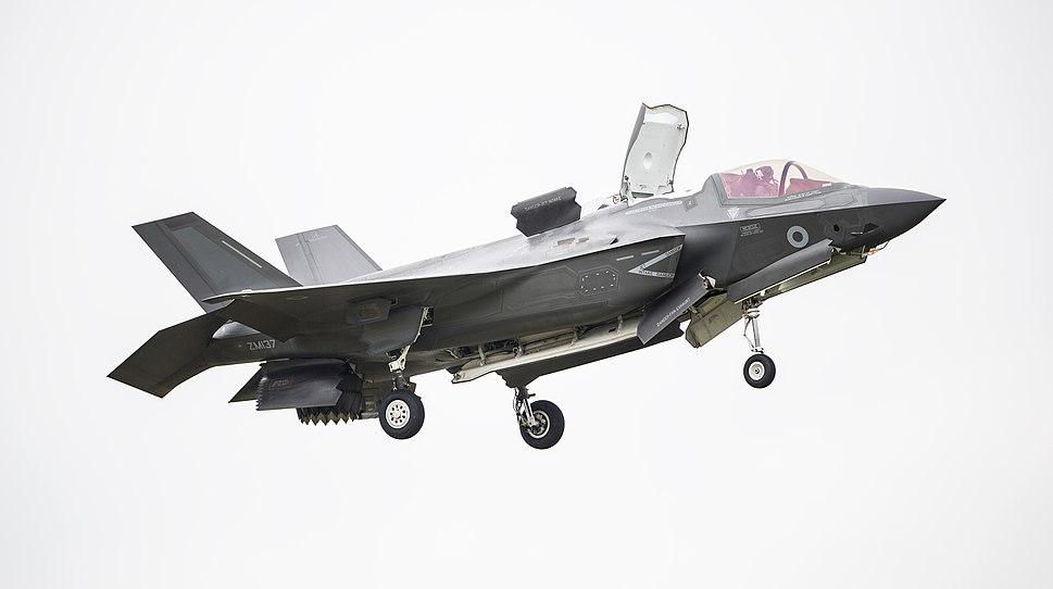 RAF F-35B STOVL RIAT 2016