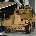 RAF Regiment armoured car, RAF Museum, Hendon. (11330907604).jpg
