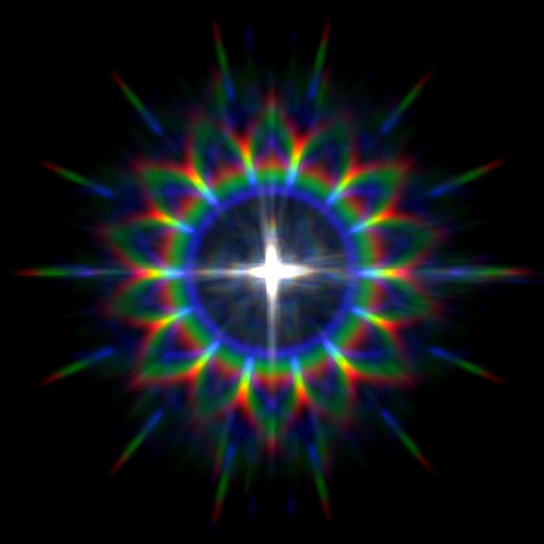 File:RGB LED Rainbow from 7th symmetry cylindrical grating.jpg
