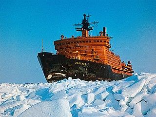Russian Arktika-class icebreaker