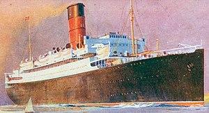 John Treasure Jones - RMS Lancastria