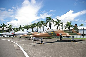 Republic of China Air Force - Retired ROCAF aircraft on permanent display at the ROC Air Force Academy