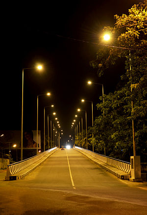Kochi Metro - A.L. Jacob Railway Over Bridge on Salim Rajan Road
