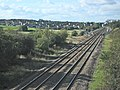 Railway track approaching Melton Mowbray - geograph.org.uk - 68397.jpg