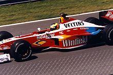 Ralf Schumacher alla guida della sua Williams FW21