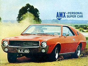 Australian Motor Industries - 1969 Rambler AMX assembled by AMI