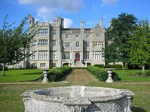 Ramsey Abbey - Ramsey Abbey House, remodelled in 1804–06 by Sir John Soane