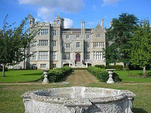 Ramsey Abbey - Ramsey Abbey House, remodelled in 1804–06 by Sir John Soane