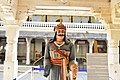 Rana sanga statue at city palace udaipur.jpg