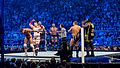 Randy Orton, The Big Show and Sheamus v Daniel Bryan, Mark Henry and Cody Rhodes at Smackdown taping in London 17th April 2012 (7282764532).jpg