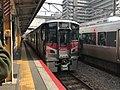 Rapid train for Hiro Station at Kure Station.jpg