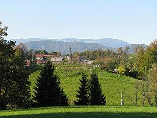 Ravne pri Mlinšah Place in Upper Carniola, Slovenia