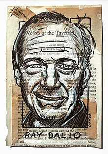 Ray Dalio Portrait Painting Collage By Danor Shtruzman.jpg