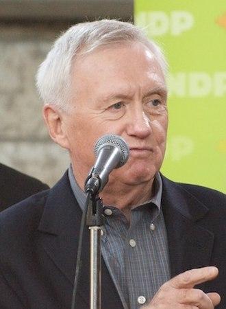 Alberta New Democratic Party - Image: Ray Martin NDP