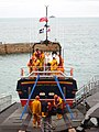 Re-housing the lifeboat - geograph.org.uk - 1723273.jpg