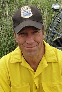 Mike Rowe American television personality.