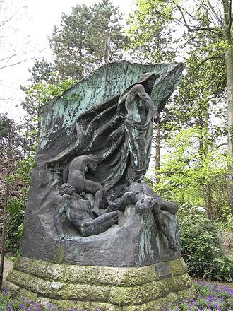 Rebeca Matte Bello - Spectre de la Guerre, 1908–1914, Peace Palace garden, The Hague.
