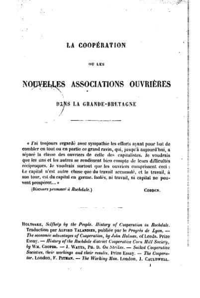 File:Reclus - La Coopération, ou Les nouvelles associations ouvrières dans la Grande-Bretagne.djvu