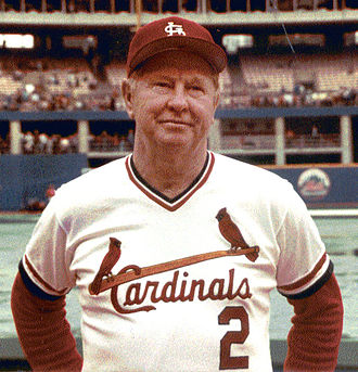 1989 Baseball Hall of Fame balloting - Image: Red Schoendienst 1983