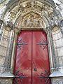 Red door at Notre-Dame de Paris, 24 May 2009.jpg