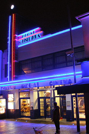 Media in Cornwall - The Regal Cinema in Redruth