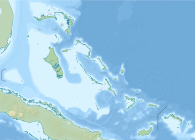 Location map Bahamas