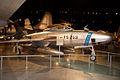 Republic RF-84K Thunderflash RFrontSide Cold War NMUSAF 26Sep09 (14599533352).jpg