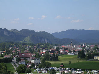 Reutte - Image: Reutte Tirol