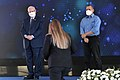 Reuven Rivlin presenting certificates of appreciation to the outstanding people of the Shin Bet, December 2020 (KBG GPO9003 1.jpg