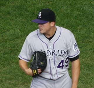 Rex Brothers Major League Baseball pitcher in the Colorado Rockies organization