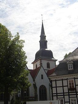 Rietberg Katholische Pfarrkirche St Johannes Baptist