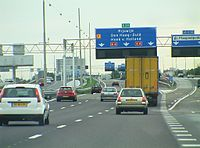 Rijksweg A4 Netherlands.JPG