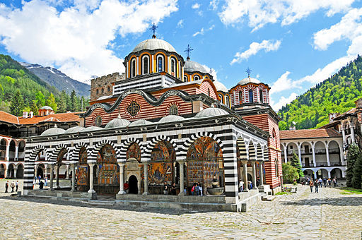 Rila Monastery - Bulgaria - 5 May 2012