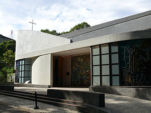 Pontifical Catholic University of Rio de Janeiro - The church of the Sacred-Heart of the PUC