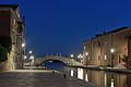 Rio de l Arsenale Ponte San Biasio Venezia notte.jpg