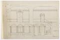 Ritning vestibulerna, Hallwylska palatset, 1896 - Hallwylska museet - 102152.tif