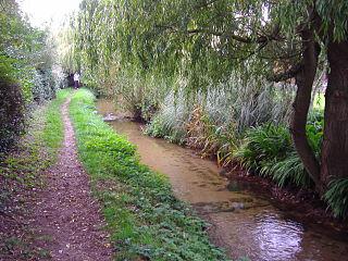 River Ingol river in Norfolk, United Kingdom