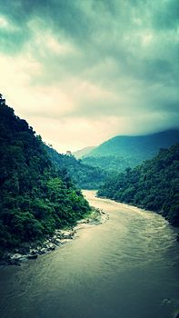 River Nandi which is The Gateway to North- East is a branching from Mahananda near siliguri West Bengal.jpg