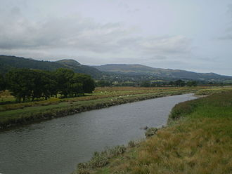 River Conwy - River Conwy near Dolgarrog