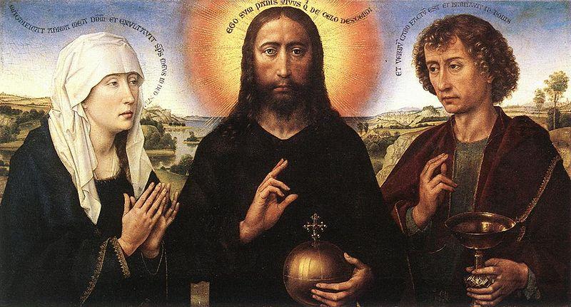 File:Rogier van der Weyden - Braque Family Triptych (central panel) - WGA25654.jpg