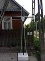Rohozy roadside crucifix, near Iwanki.jpg