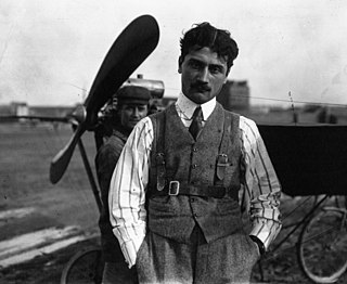 Roland Garros (aviator) 20th-century early French aviator