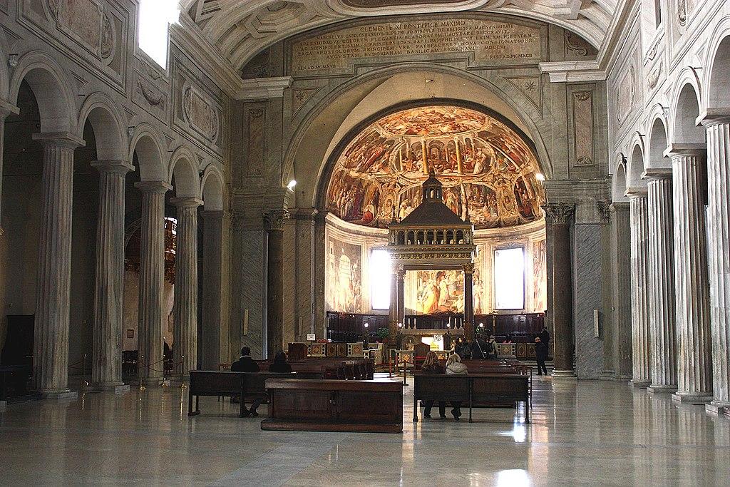 Rom, San Pietro in Vincoli, Innenansicht.JPG