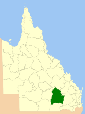 Maranoa Region - Location in Queensland