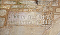 Ropsley St Peter's porch datestone.jpg