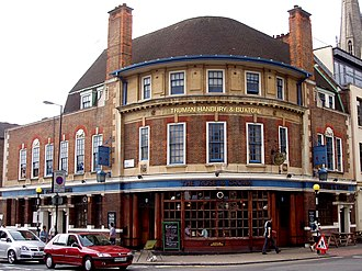 Stoke Newington Church Street - The Rose and Crown, 2007