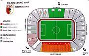 Rosenau Stadionplan